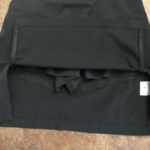 Antigua Shorts - Antigua Desert Dry Skorts Size 6 Black Golf Skirt